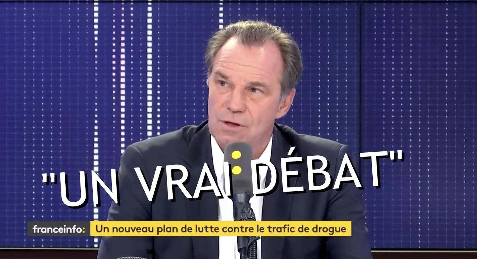 """VIDÉO Cannabis : le président LR de la Région Sud """"ouvert au débat sur la légalisation"""""""