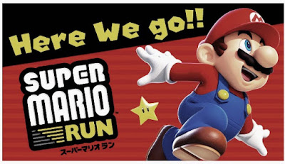 the game super Mario run in pics