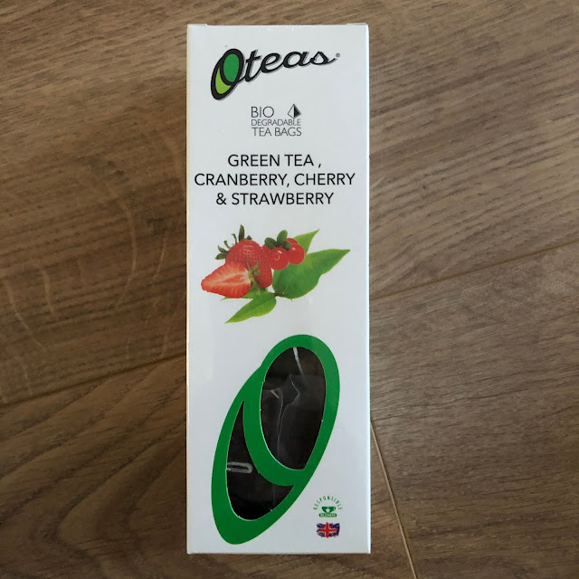 Oteas Green Tea, Cranberry, Cherry & Strawberry £3.39 in degustabox December