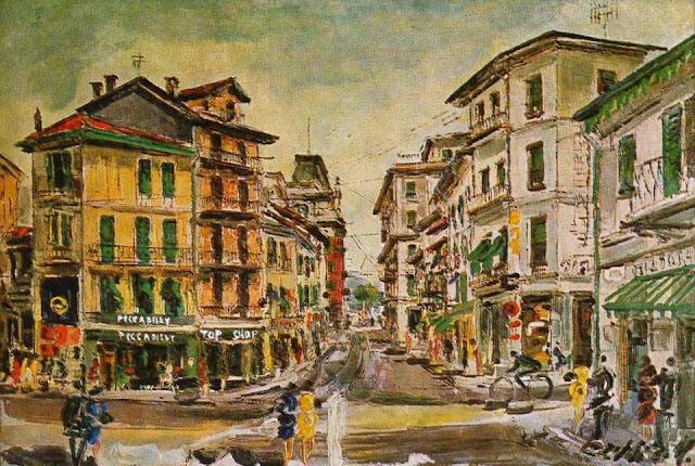 b1f330a2c4c A proposito di Piccadilly ecco una rara immagine di come era il negozio (di  articoli di abbigliamento e maschile di lusso e tessuti) aperto nel 1956 da  ...