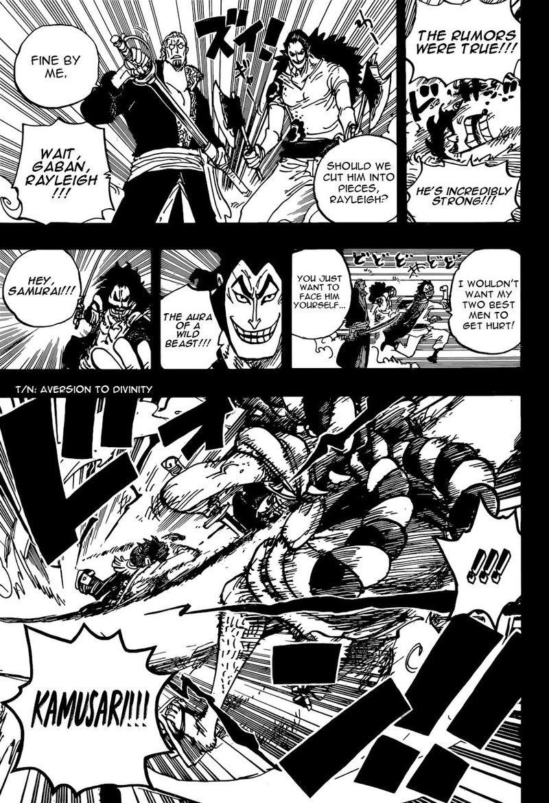 One Piece Manga Chapter 966 - Image 003