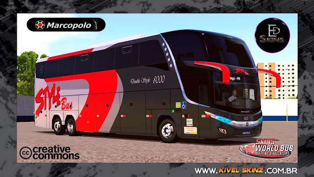 PARADISO G7 1600 LD - VIAÇÃO STYLE BUS