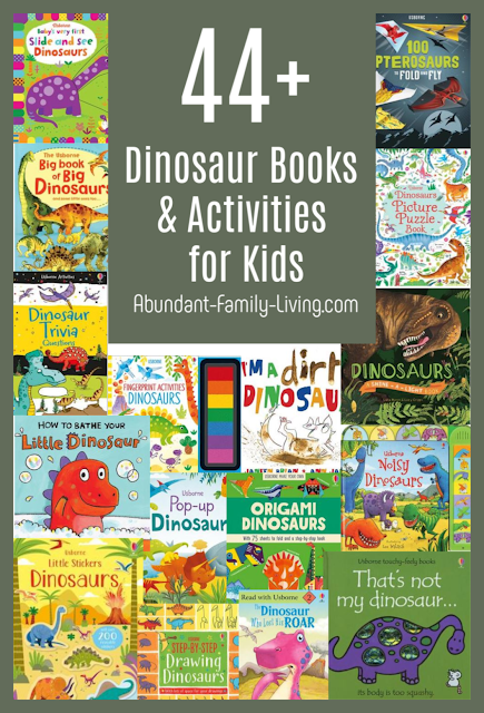 44+ Dinosaur Books and Activities for Kids