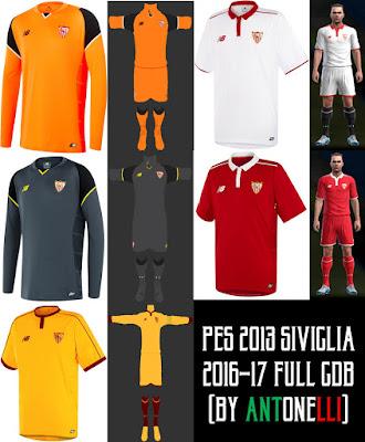PES 2013 Sevilla 2016-17 Full GDB (BY ANTONELLI)