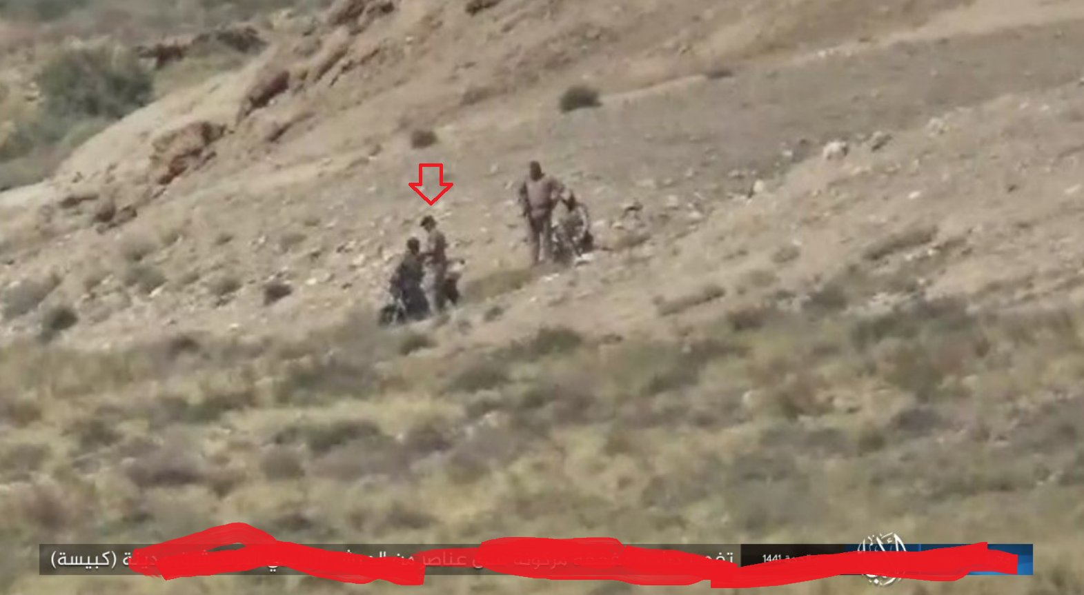 Iraqi-forces-found-an-abandoned-motorcycle-and-try-to-start-it