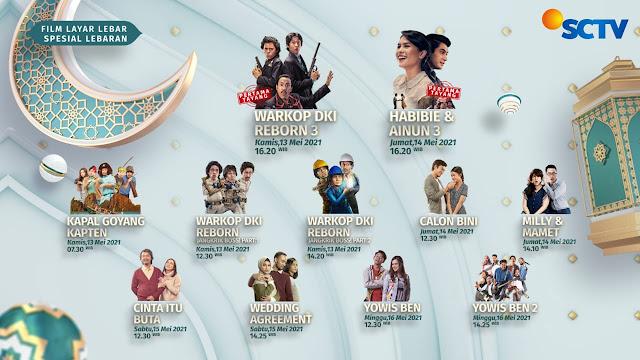 Parade Film Box Office Indonesia Siap Temani Pemirsa SCTV Rayakan Lebaran