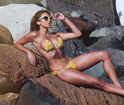 Khloe Terae in Bikini – 138 Water Photoshoot in Malibu