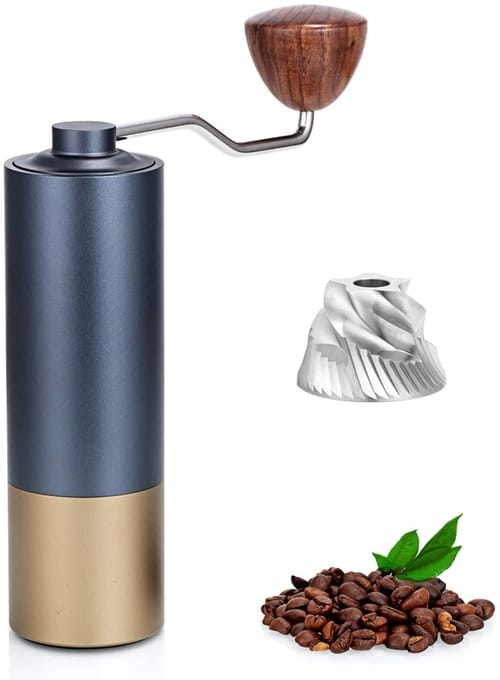 Bescoff Portable Hand Bean Coffee Grinder