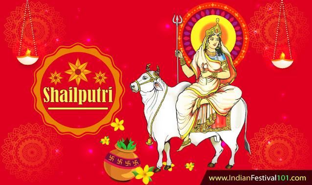 Maa Shailputri First Day of Navratri