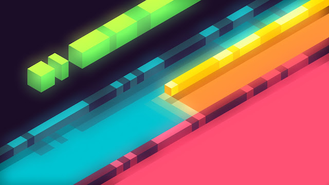 wallpaper 3d abstract colorful shapes minimalist 5k