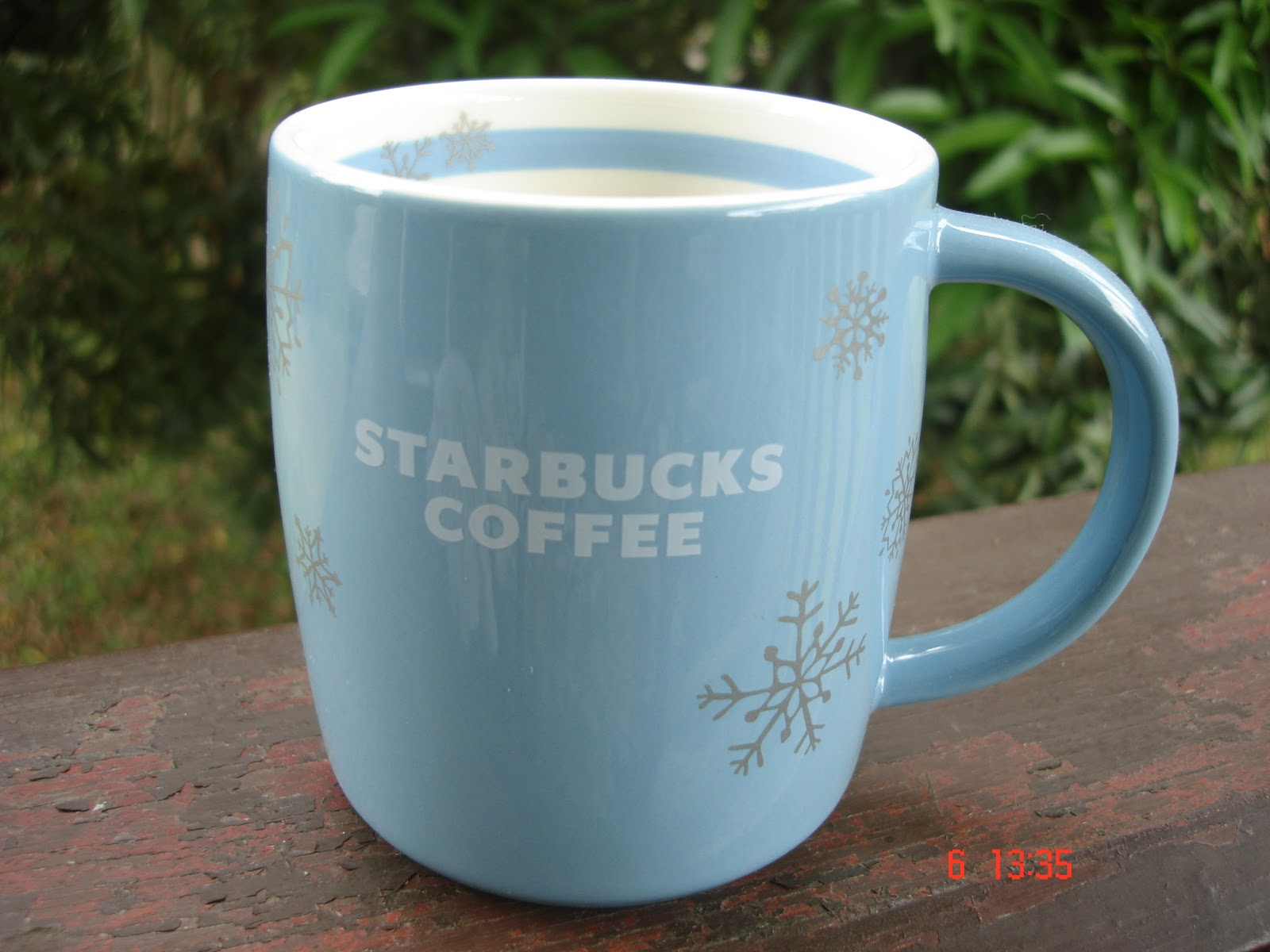 Starbucks Cup Snowflakes A Blueamp; Abbey Silver Day2010 Christmas 2H9WDIE