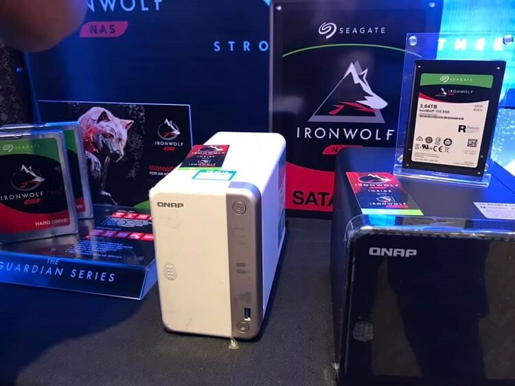 Seagate IronWolf 110 SATA SSD
