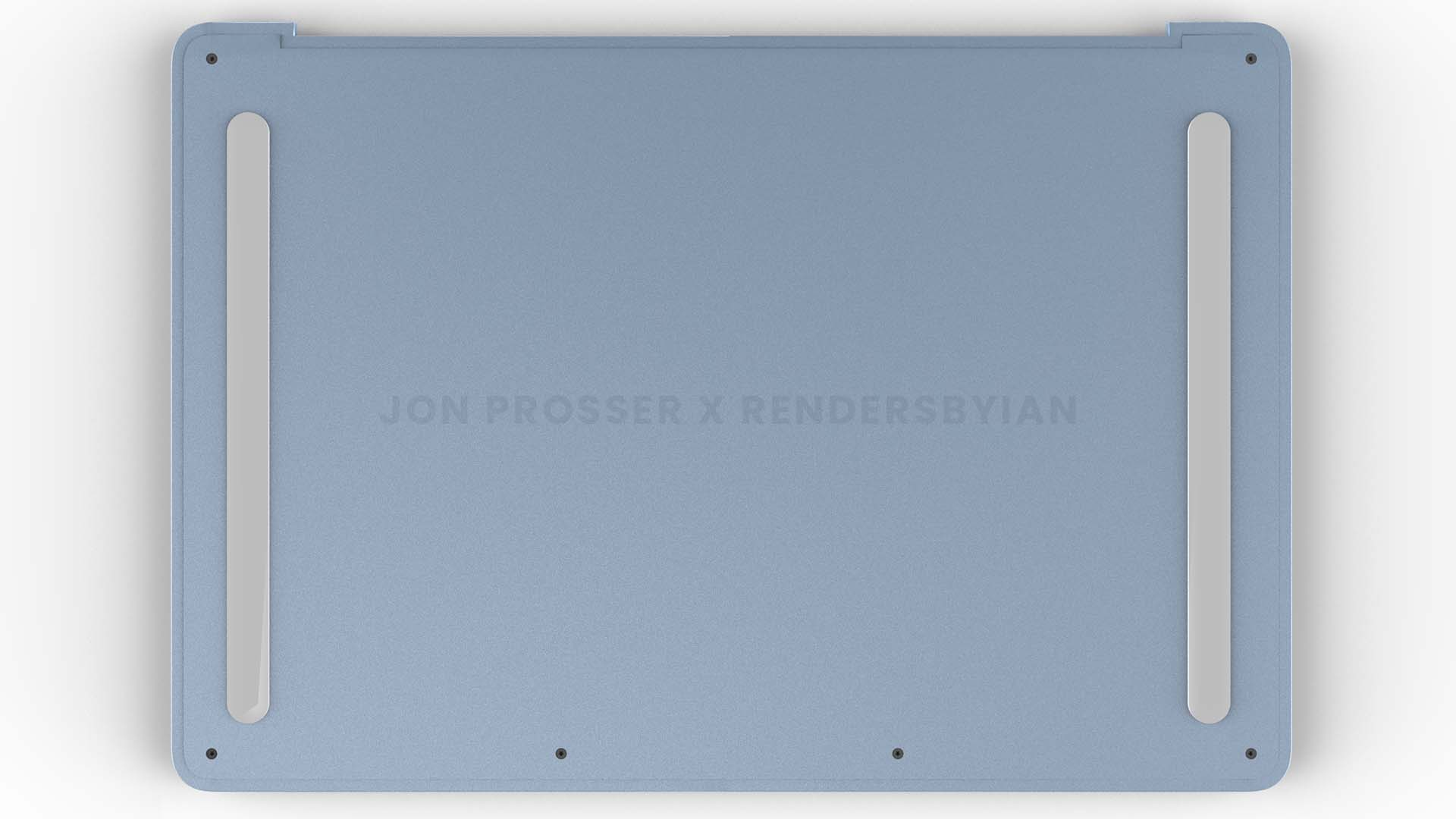 2021 MacBook Air 背面
