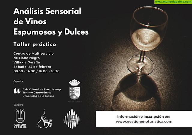 Taller de Análisis Sensorial de Vinos Espumosos y Dulces