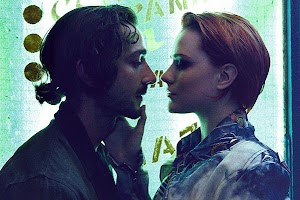 Shia LaBeouf and Evan Rachel Wood in the film's trailer :'Fall in love to death'