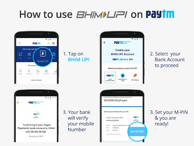 How To Use Paytm BHIM-UPI Feature