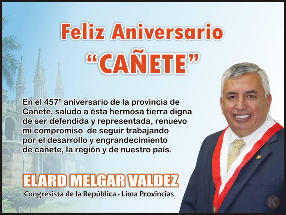 Aniversario De Texto: ¡FELIZ 457º ANIVERSARIO CAÑETE!