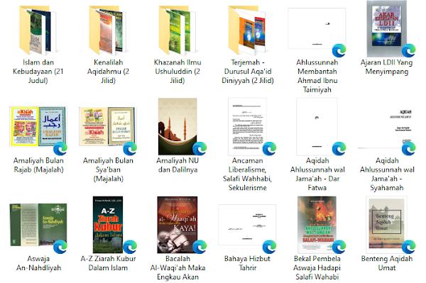 download buku akidah islam dan amaliyah NU