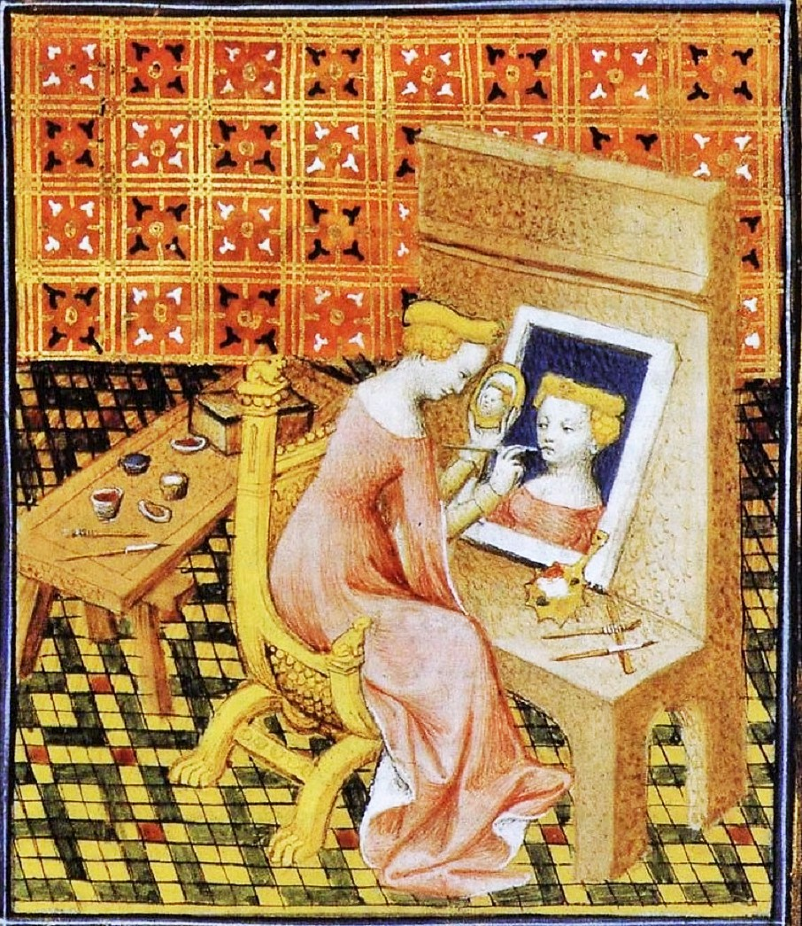 It 39 s about time women artists from the 1300s 1400s for Autoportrait miroir