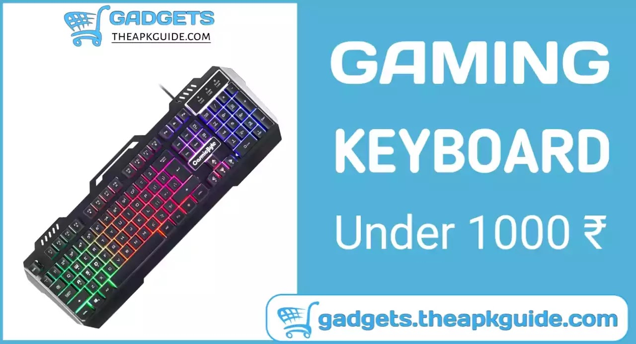Cosmic Byte CB-GK-05 Titan Wired Gaming Keyboard Review