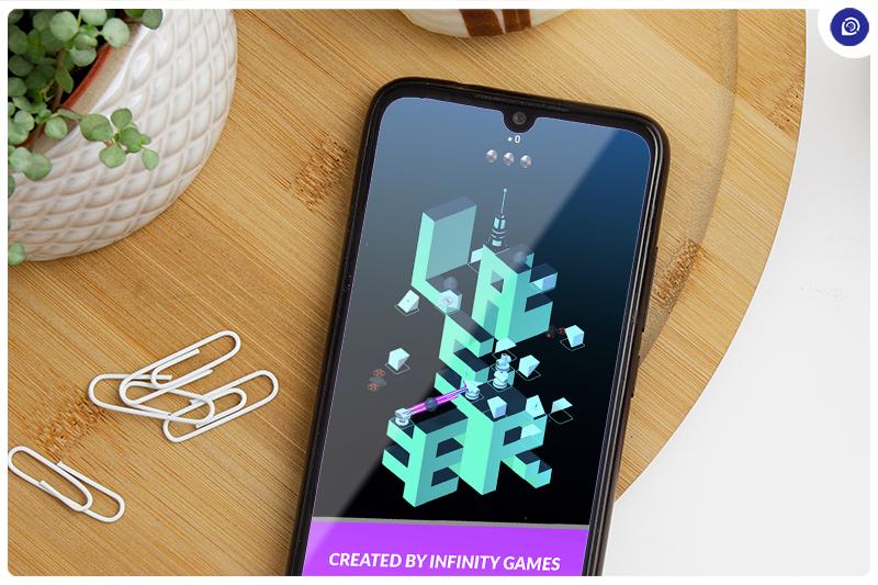 Solve 3D Puzzles With Laser Quest.