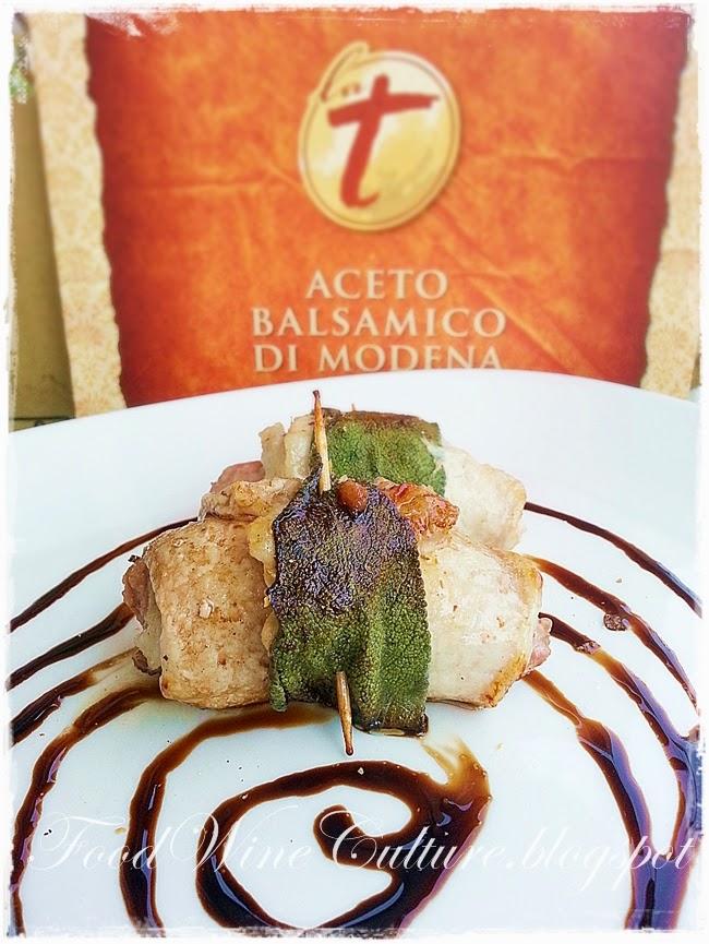 Involtini di Vitello e Salsiccia all'Aceto Balsamico Tradizionale di Modena DOP