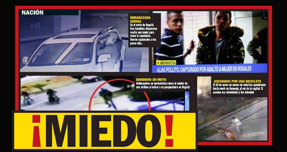 ¿De dónde viene la subienda delincuencial en Colombia?