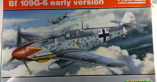 Eduard 1/48 Bf 109 G6 Early Version