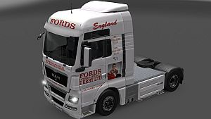 Fords Lee Rigby skin for MAN TGX