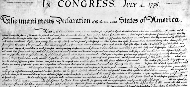 Facebook flags Declaration of Independence as hate speech