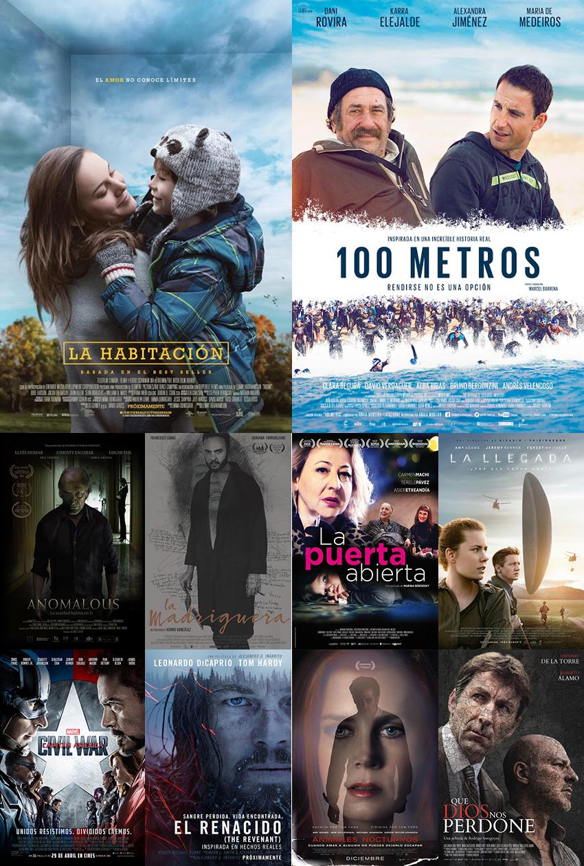 Cine de patio top ten mejores pel culas 2016 for Pelicula la habitacion 2016