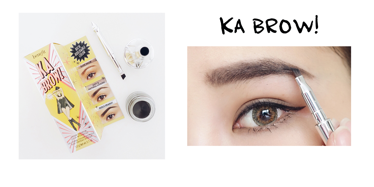 BROW GAME WITH NEW BENEFIT BROW COLLECTION   Duo Gigs