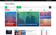 (Free)(Premium) NewsPro Blogger Template Themes