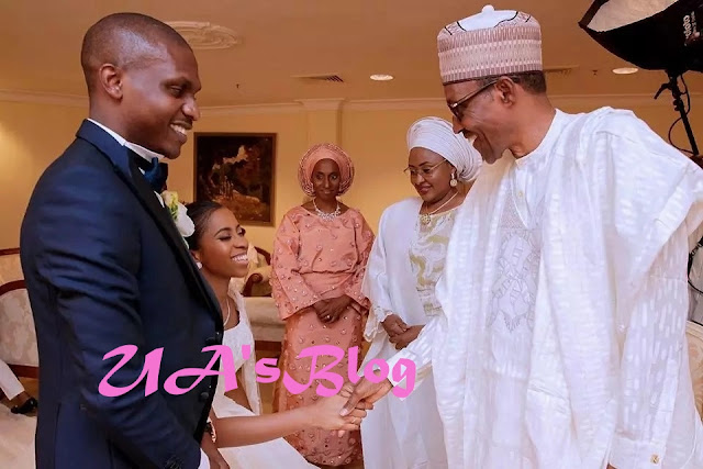 President Buhari, top dignitaries attend Osinbajo's daughter's wedding in Abuja