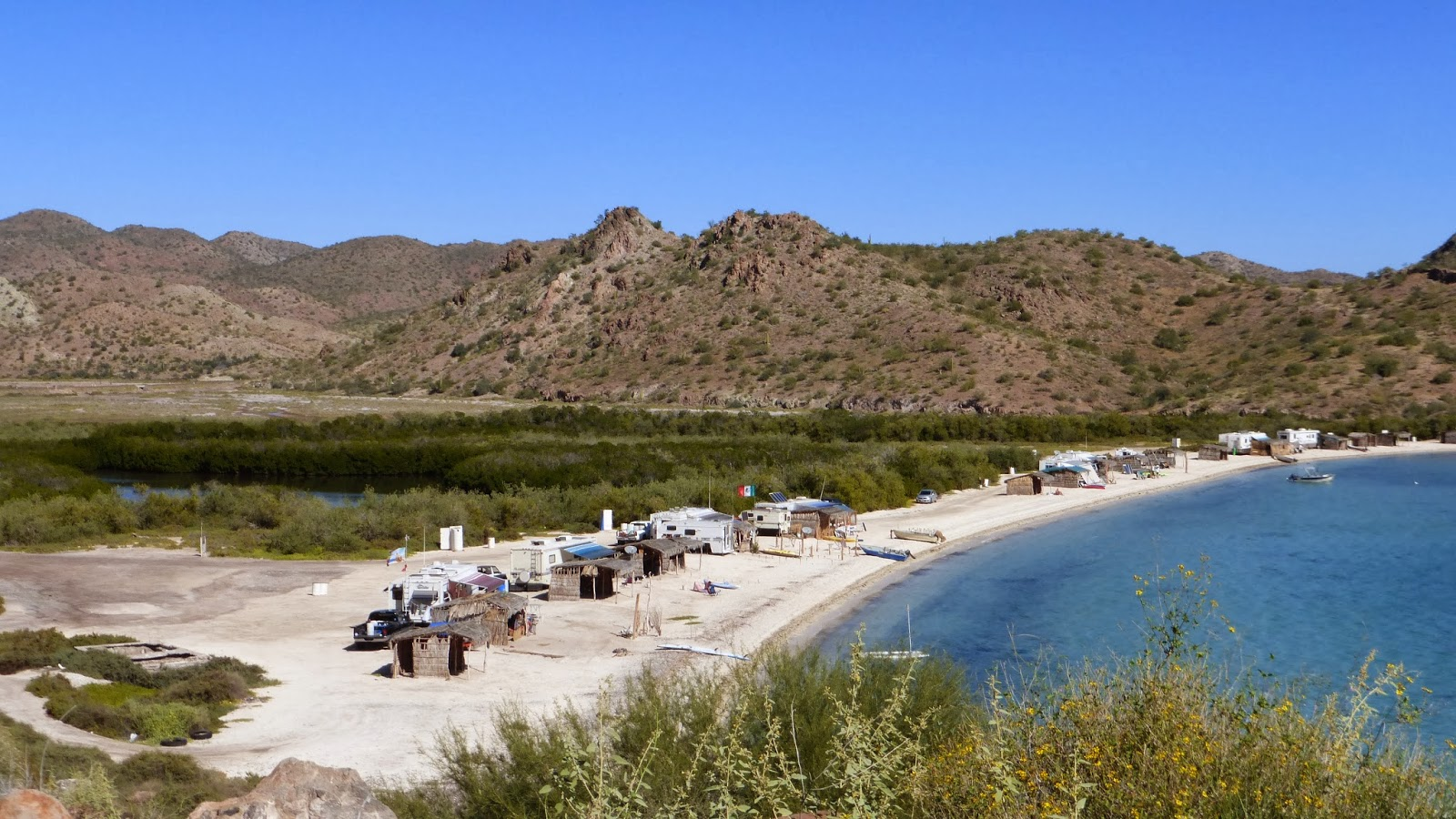 Andrew And Nikki Go Overseas Rv Parks On The Beaches Of Baja Mexico