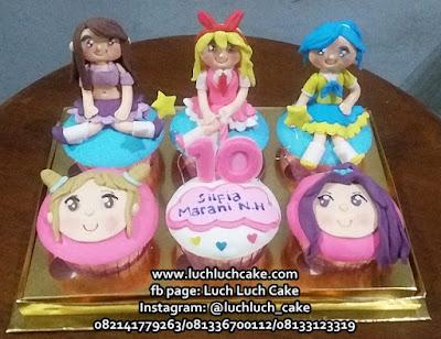 Cupcake Kartun Aikatsu