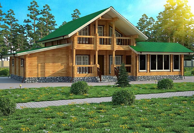 Дома из дерева в Севастополе