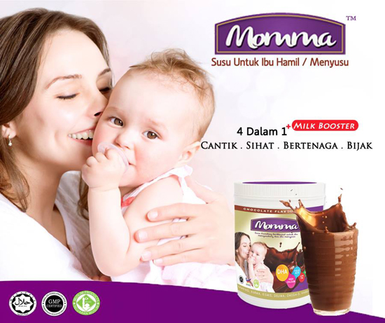 Susu MOMMA Untuk Ibu Mengandung dan Menyusu