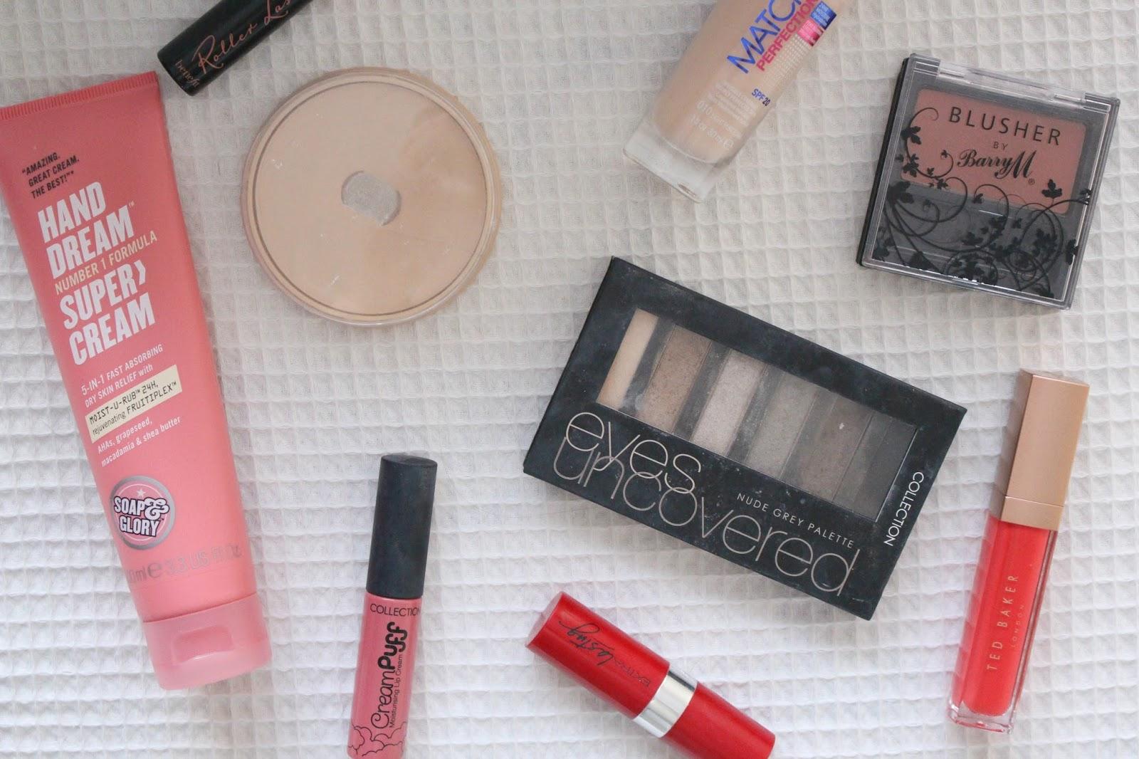 2015 Beauty Favorites makeup bloggers drugstore rimmel picks