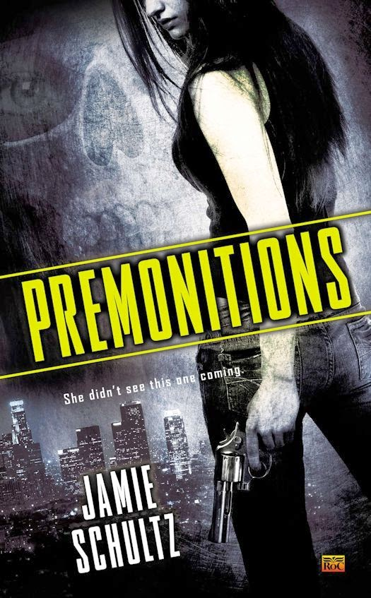 2014 Debut Author Challenge Update - Premonitions by Jamie Schultz