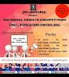 National Debate Competition, Presented By JDS Lawguruji: Register Now, Last Date For Registration