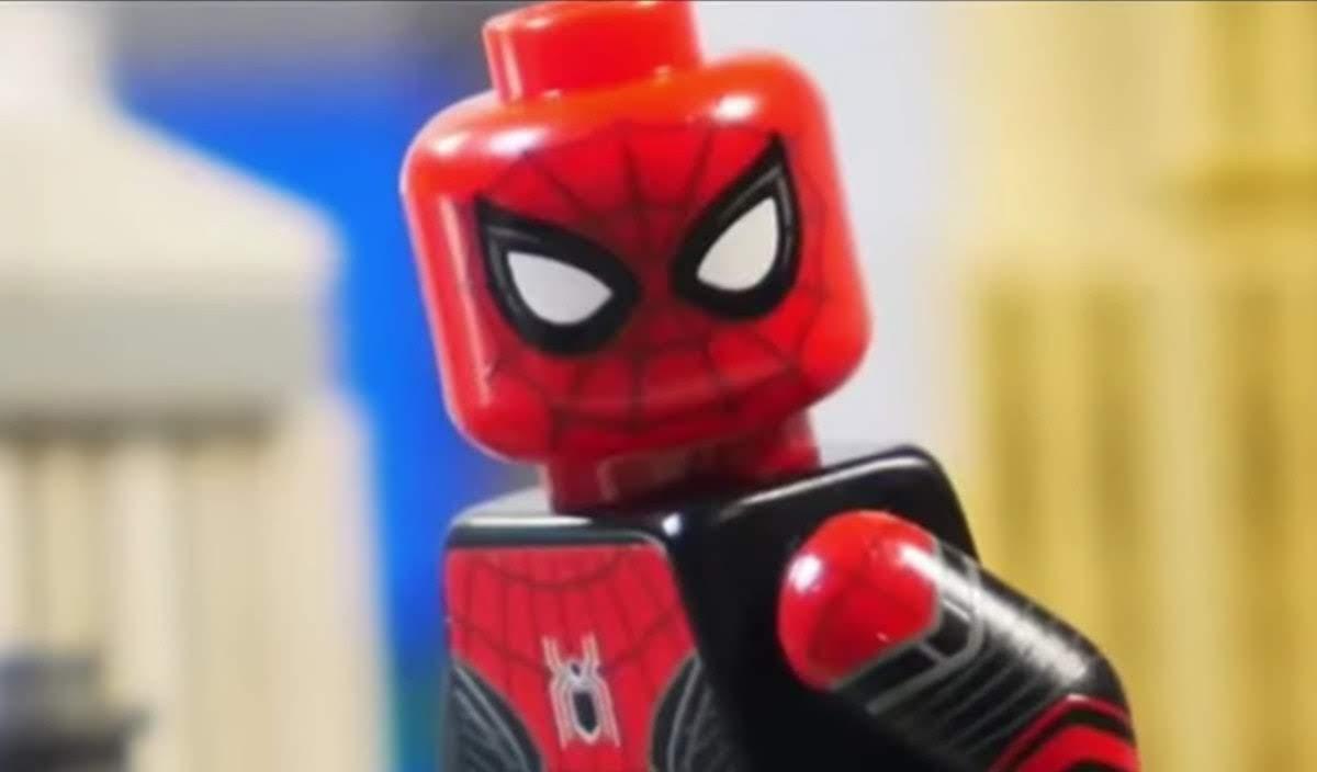 Spider-Man Far From Home Post Credit Scene in LEGO :「スパイダーマン : ファー・フロム・ホーム」の結末の衝撃のネタバレ・シーンを再現した LEGO のショート・アニメ ! !