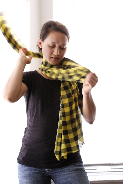 Make a scarf for less than $3