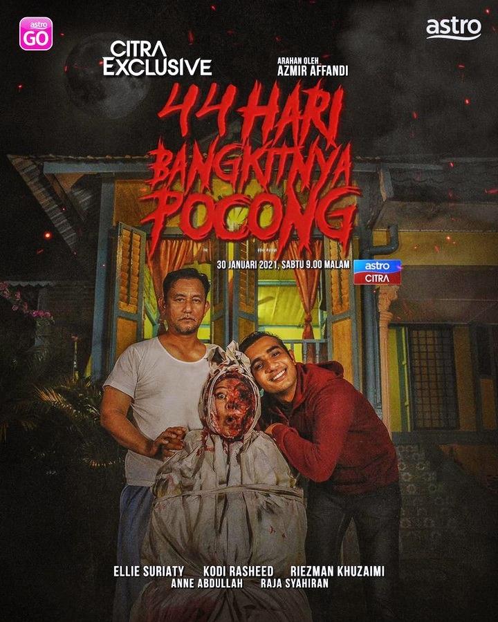 Review Telefilem : 44 Hari Bangkitnya Pocong