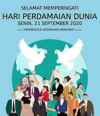 hari perdamaian dunia 21 september 2020