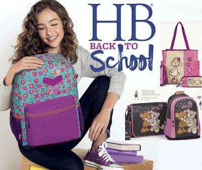 HB Handbags Escolar 2016