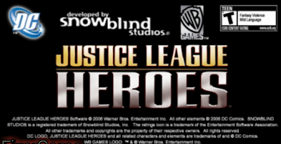Download Game Justice League Heroes ISO/CSO Save Data PSP PPSSPP For Android High Compressed ukuran kecil full version free download versi terbaru.