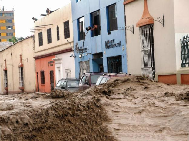 Peru disaster update: 80,000 injured and 150,000 properties damaged 624x468