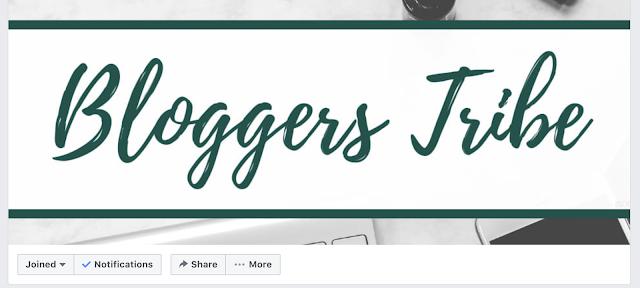 A Screenshot of Bloggerstribe facebook group