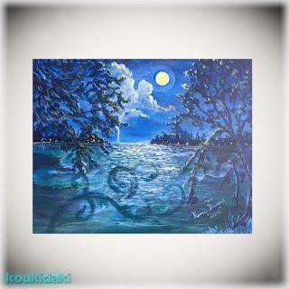 Renee Dumont (Summer Night Romance Painting)